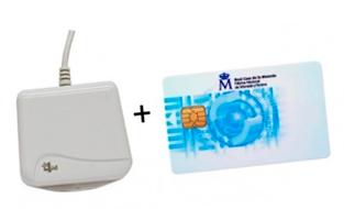 tarjeta criptografica y lector